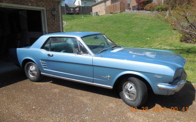 Even Garaged Ones Rust: 1966 Ford Mustang