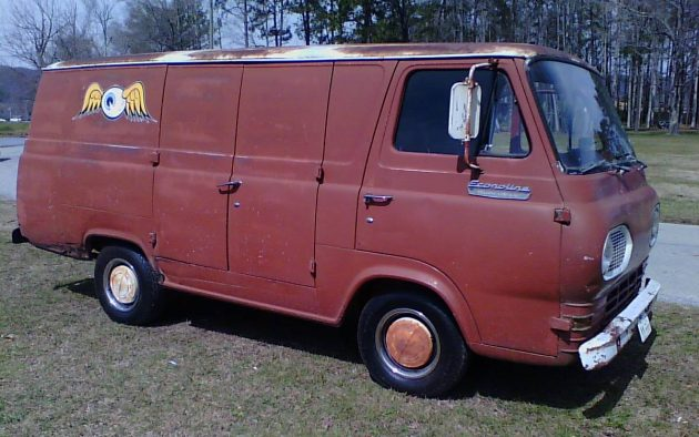 He S An Old Hippie 1967 Ford Econoline 8 Door Van