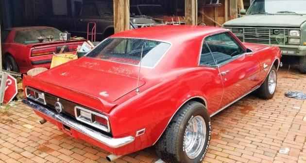 375 Horsepower Barn Find: 1968 Camaro SS 396