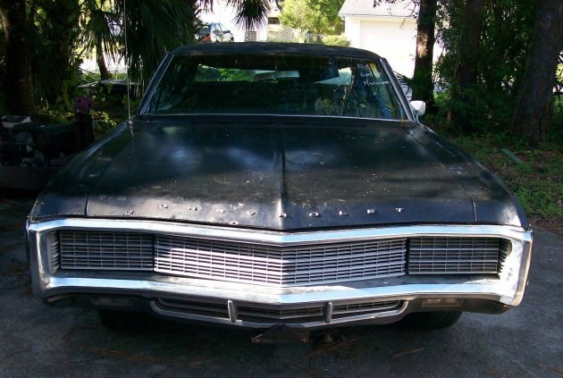 Barn Find 1969 Chevrolet Caprice 427