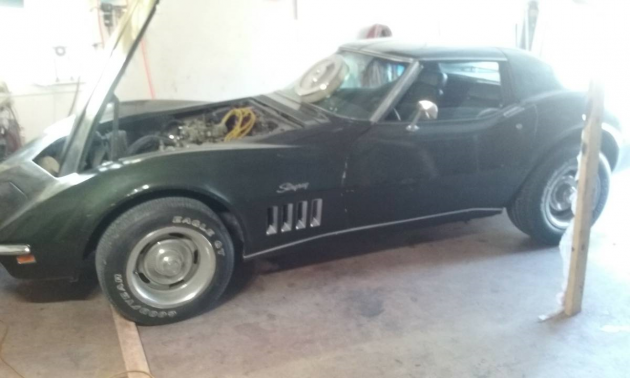 I've Seen You Before: 1969 Corvette Coupe