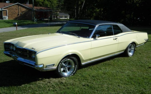 Banana With No Spots: 1969 Mercury Montego MX
