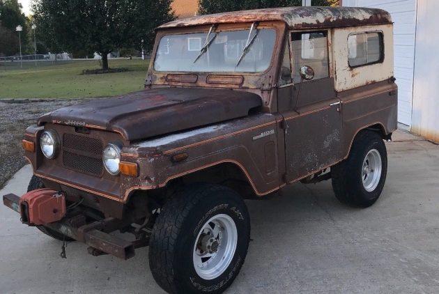 Nissan's Jeep! 1969 Patrol K60 Hard Top