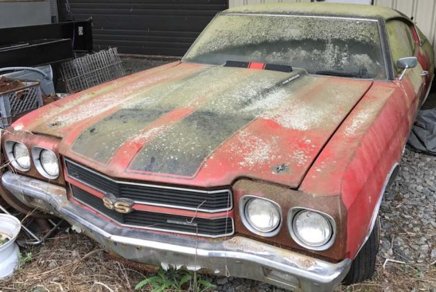 Hidden for 40 Years! 1970 LS6 Chevelle SS 454