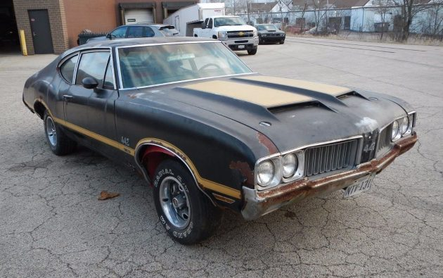 Serious Muscle: 1970 Oldsmobile 442 W-30