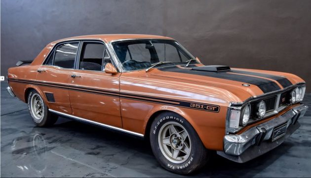 Lost for 30 Years:  1971 Australian Ford Falcon GTHO Phase III