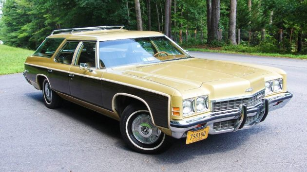 Spy Wagon: 1972 Chevrolet Kingswood Estate