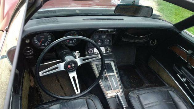 An Almost Untouched Beauty 1972 Corvette