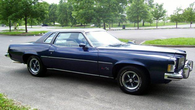 Last Gasp For Performance: 1973 Pontiac Grand Prix SJ 455
