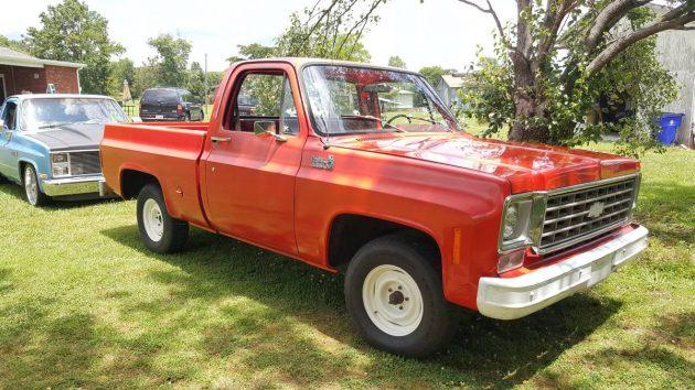 15 000 Mile Work Truck 1976 Chevrolet C 10 Pickup