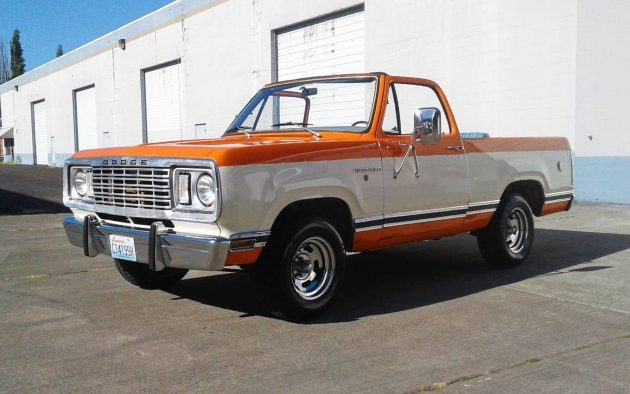 Orange Dreamsicle: 1976 Dodge Ramcharger SE