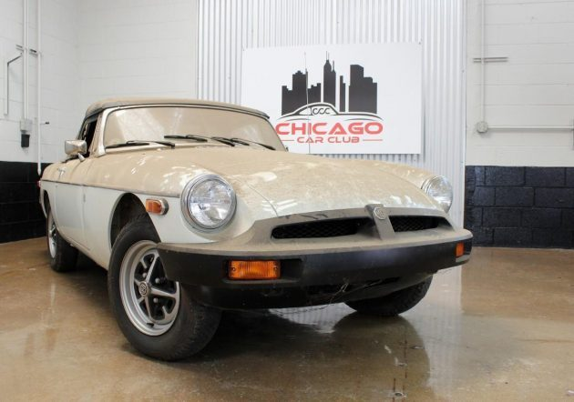 1,400 Miles From New: 1976 MGB