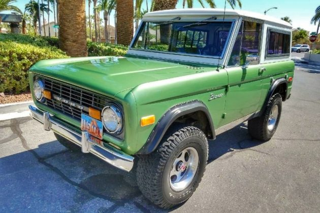 Never Been Off Road: 1978 Ford Bronco 4×4