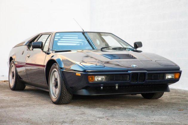 1981 BMW M1 – 8,000 original miles