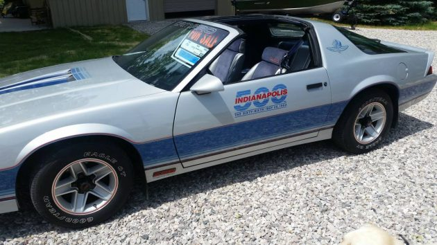 When Indy Pace Cars Mattered: 1982 Chevrolet Camaro Indy
