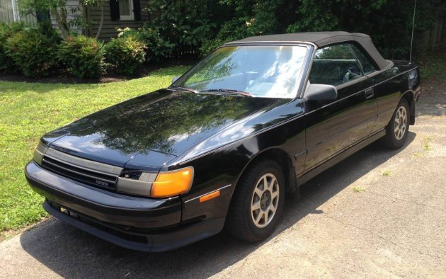 Soon To Be Rising Sun: 1987 Toyota Celica Convertible