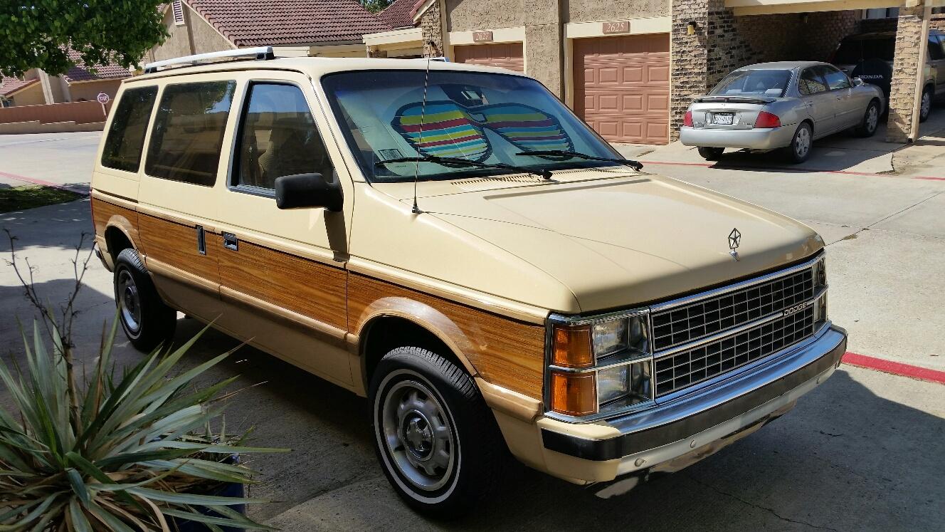 Chrysler Pacifica Van >> Never This Nice: 1985 Dodge Caravan