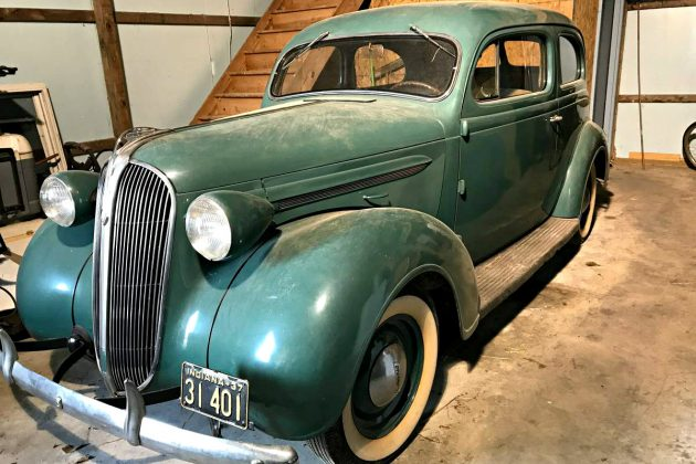 garage find 1937 plymouth coupe. Black Bedroom Furniture Sets. Home Design Ideas