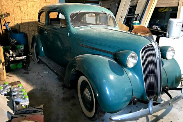 Garage Find  1937 Plymouth Coupe