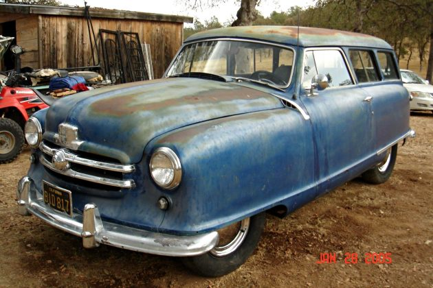 Two Door Toaster 1951 Nash Station Wagon