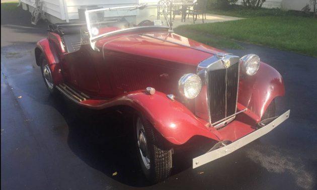 Buick Powered: 1952 MG TD/C