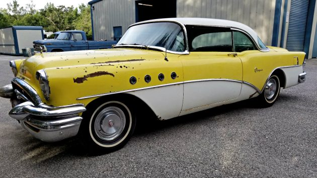 Hardtop canary 1955 buick super riviera for 1955 buick riviera 56r super 2 door hardtop