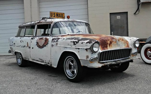 Expedited Shipping: 1955 Chevrolet Handyman Wagon