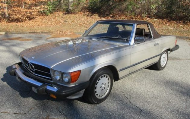 One County Convertible: 1987 Mercedes-Benz 560 SL