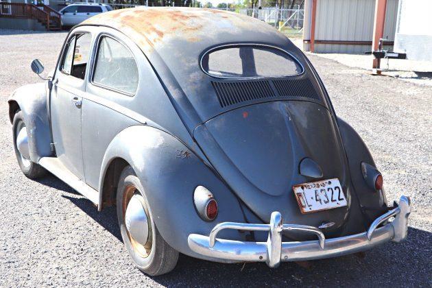 Texas Oval Well: 1957 Volkswagen Beetle