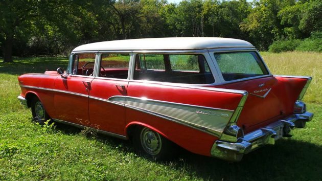 Still A Market For Tri 5s 1957 Chevy Bel Air Wagon
