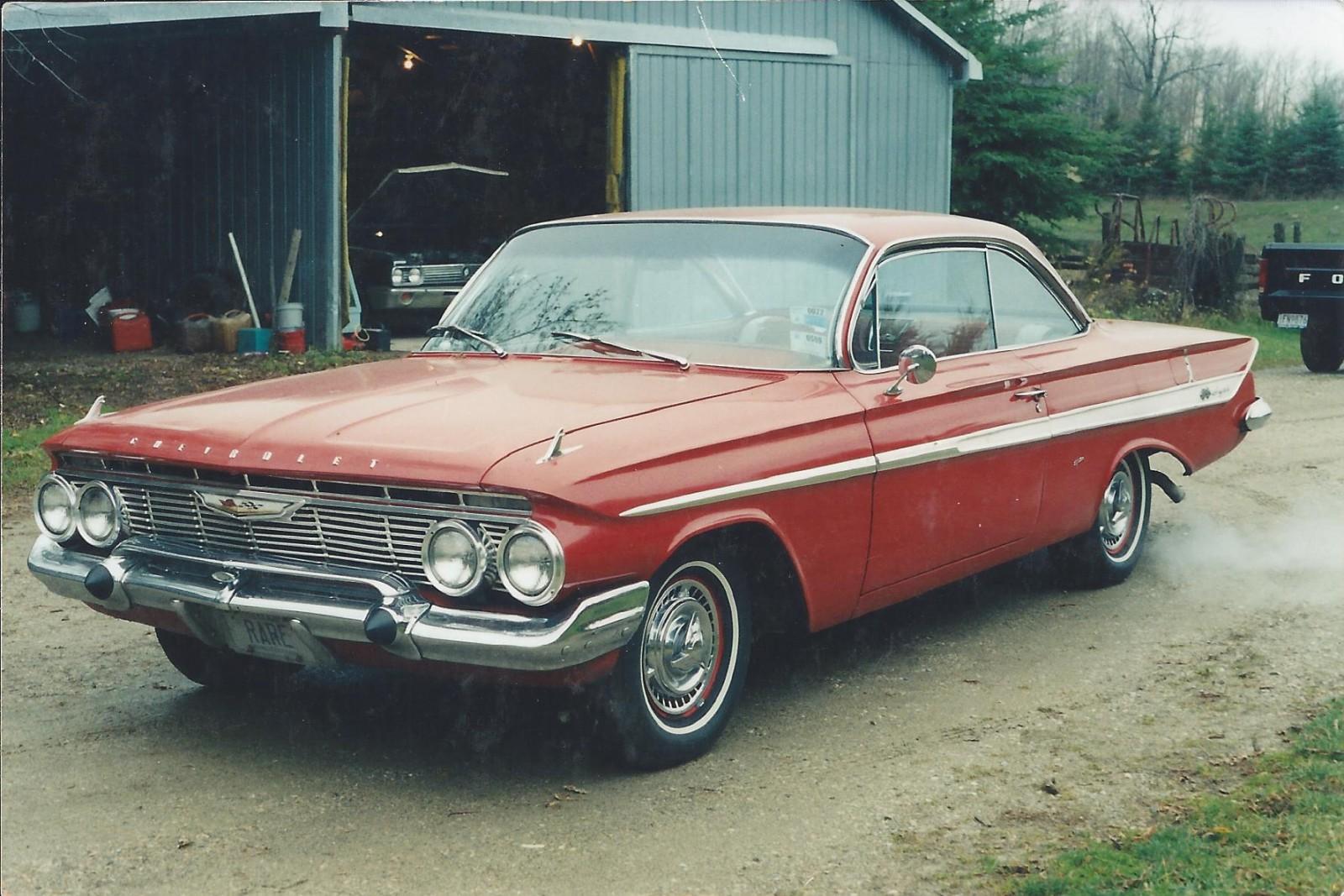 Barn Find! 1961 Chevrolet Impala