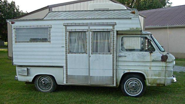 Box 6 Camper: 1963 Chevrolet Corvair Motorhome