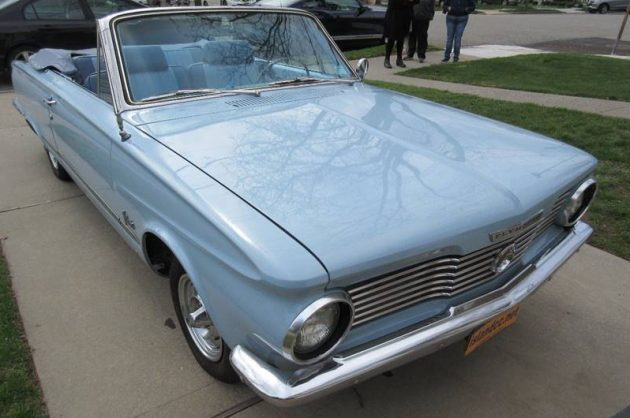 Drop Top Blues: 1964 Plymouth Valiant V200 Convertible