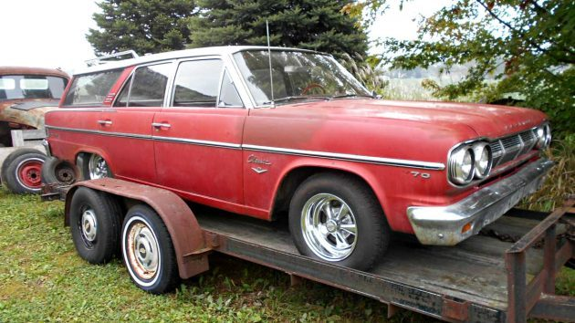 Cheap Wagon: 65 Rambler Classic Cross Country
