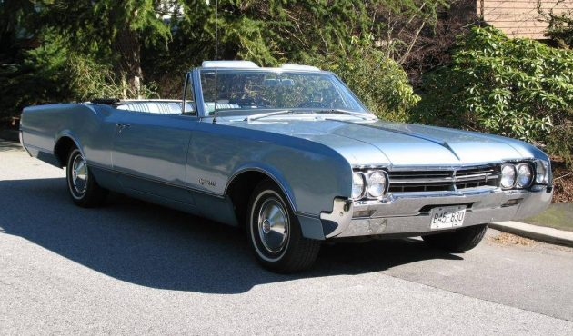 Big Blue Boat 1966 Olds Dynamic 88 Convertible