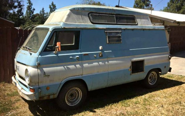 Bubble Top Camper: 1968 Dodge A100 Camper