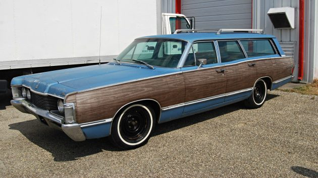 Wood Panel Delight: 1968 Mercury Colony Park Wagon