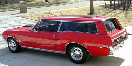 Mustero 1966 Ford Mustang Ranchero