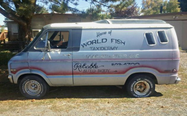 1975 Dodge Vista Cruiser Van!