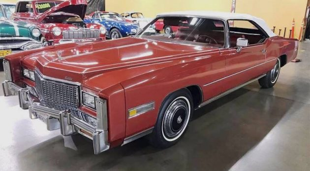 droptop survivor: 1976 cadillac eldorado convertible