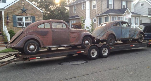 20% of the World's Population: Two 1934 Chrysler Airflow Coupes