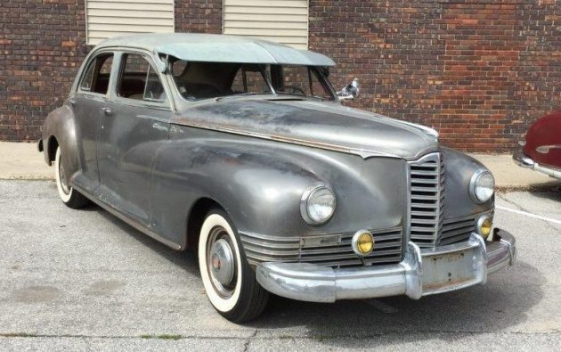 Faded Glamour: 1946 Packard Clipper