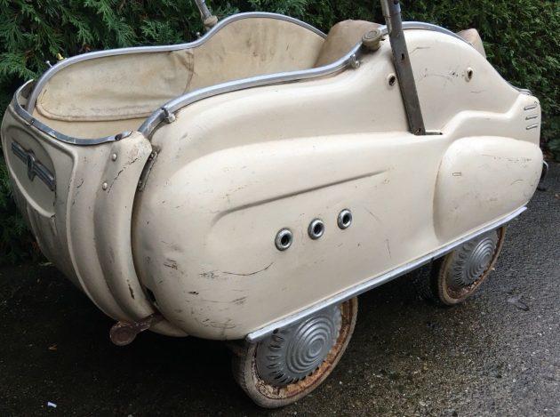 Hey Baby! Wanna Ride? 1950s Giordani Passeggino