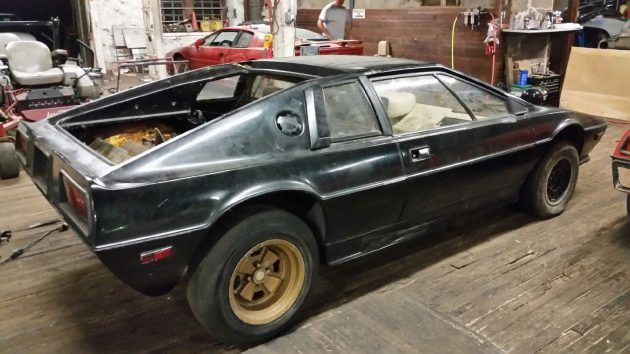 daydreaming 1977 lotus esprit s1 project. Black Bedroom Furniture Sets. Home Design Ideas