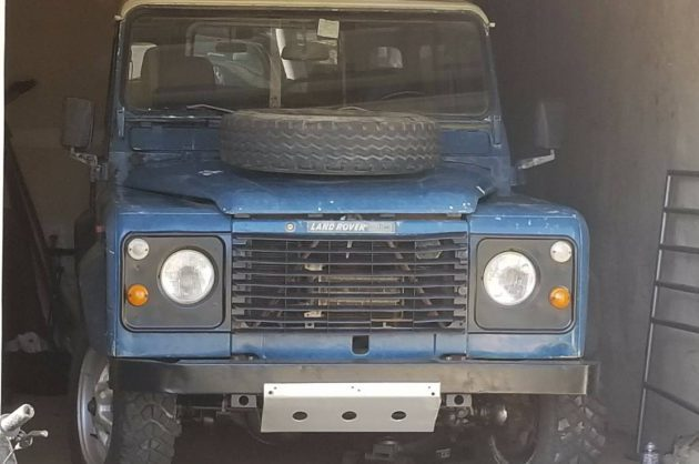 From Italy To Virginia: 1984 Land Rover Defender