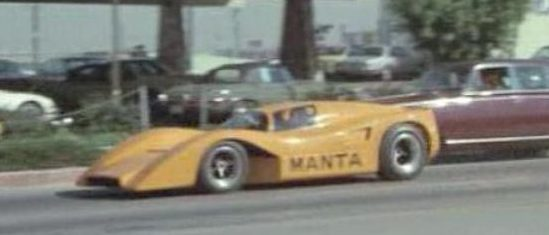 Gone In 60 Seconds 1974 Manta Mirage