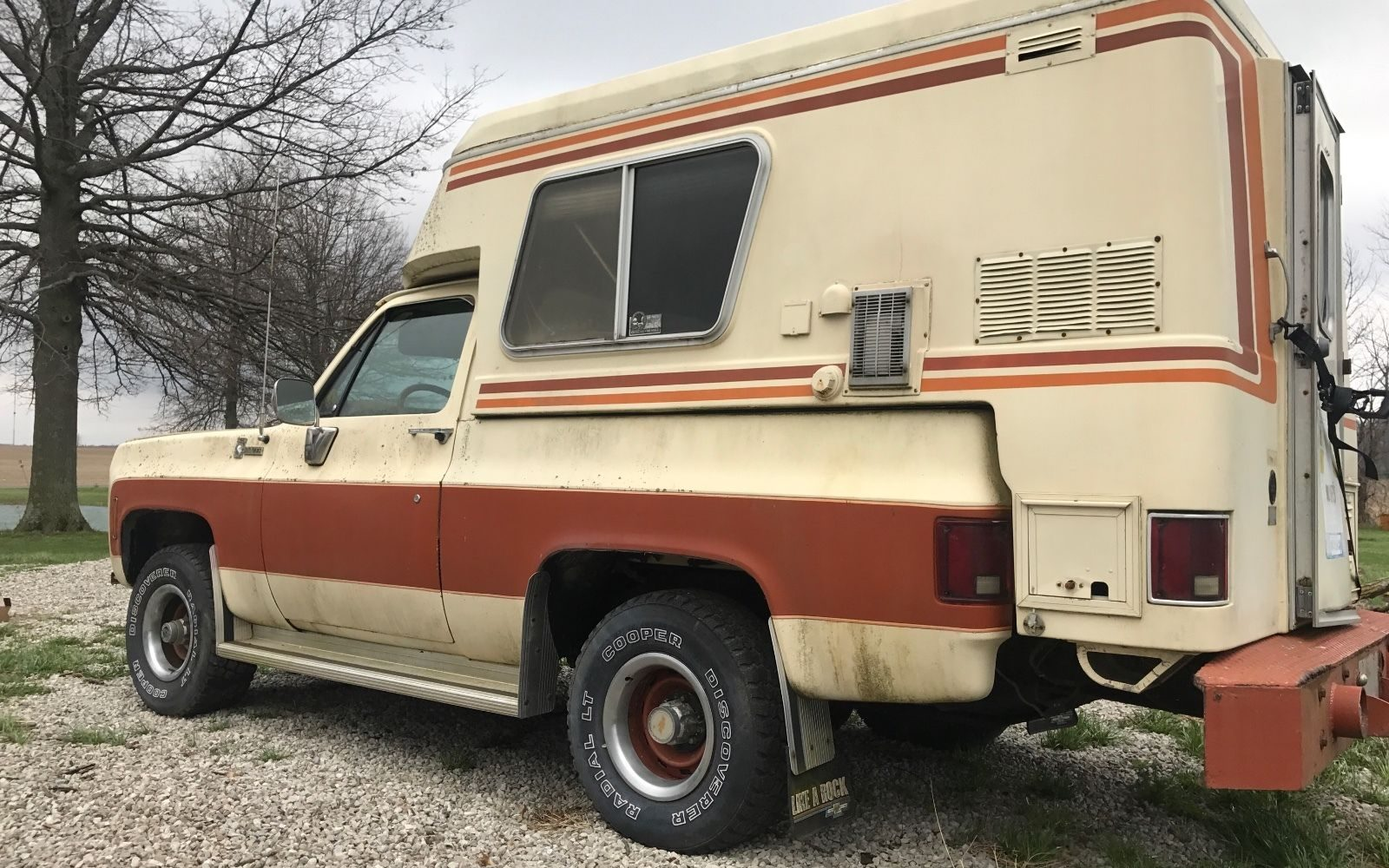 How To Write A Bill Of Sale For A Car >> Topless Outdoorsman: 1976 Chevrolet Blazer Chalet Camper