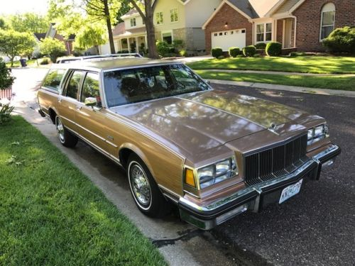 Adventures in Babysitting: 1989 Buick Electra/LeSabre Estate