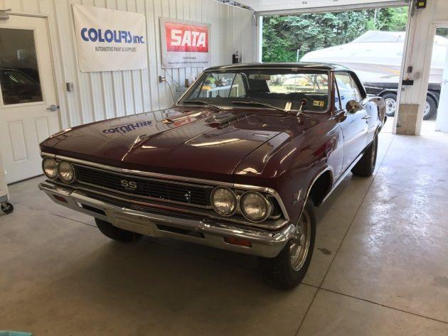 Drag Car: 12,000 Mile 1966 Chevrolet Chevelle