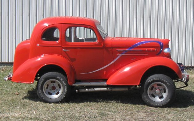 What A Combination: 1936 Chevrolet Master Deluxe Custom